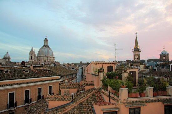 Antica Dimora delle Cinque Lune : Вид с террасы