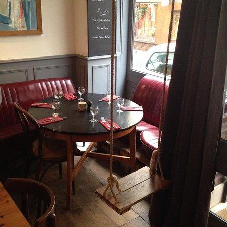 Restaurant La Balancoire Paris
