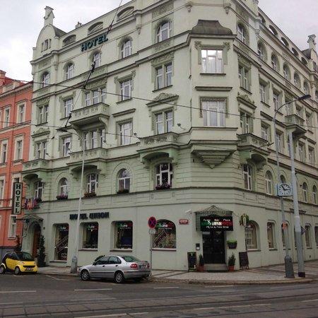 Hotel Union Prague: Внешний вид отеля.