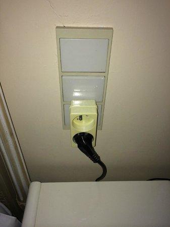 Hotel Pavillon du Zoute: installation électrique