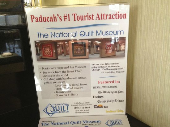 Drury Inn Paducah : Close to the Quilt Museum and Bluegrass Downs