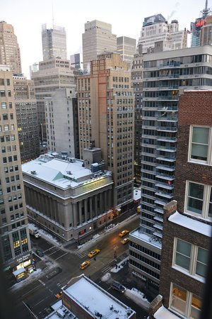 Hilton Garden Inn New York/West 35th Street: Vista sulla 36th