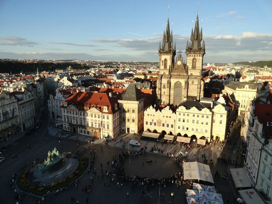 Old Prague Hostel: Old Prague Town