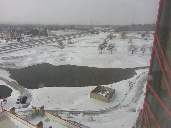 Hard Rock Hotel and Casino Tulsa: Brrrrrrrr!