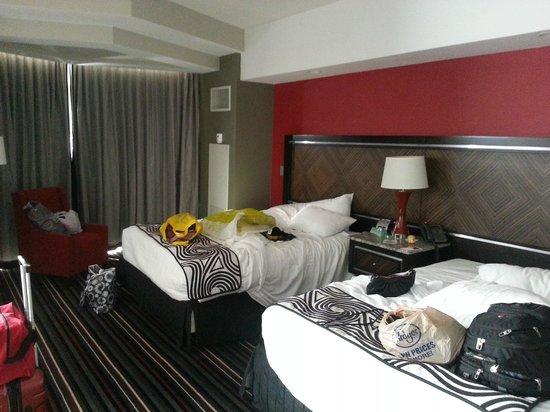 Hard Rock Hotel and Casino Tulsa: Half of Vegas Suite Room#1436