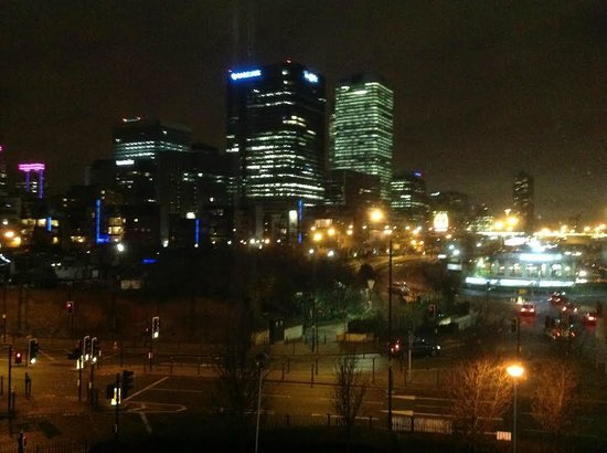 Ibis London Docklands Canary Wharf: Great view