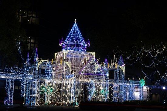 Oriental Hotel Hiroshima: ひろしまドリーミネーション2013 お正月3日まで開催されていて、次に広島行くなら開催期間にあわせてまた行ってみたい。