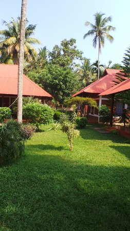 Hill View Beach Resort: View of bungalows