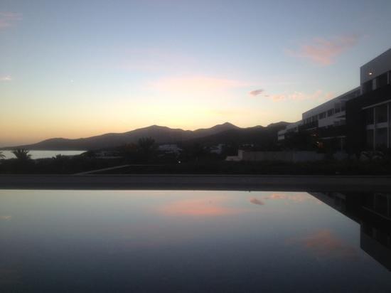 Hotel Costa Calero: last sunset of 2013