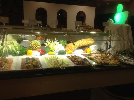 Hotel Costa Calero: new years eve spread