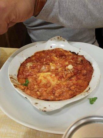 La Famiglia: Lasanha ao forno