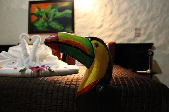 Arenal Volcano Inn : Habitación.. Detalles...