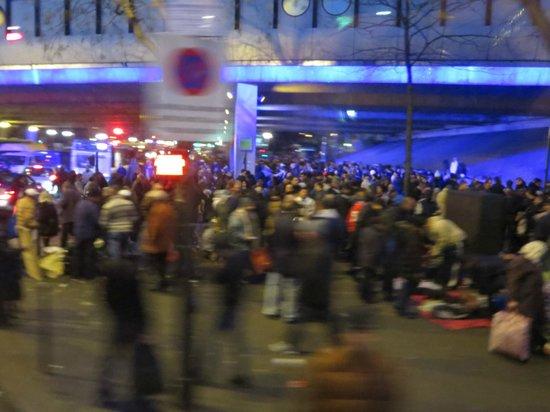 ibis budget Paris Porte de Montmartre: More homeless