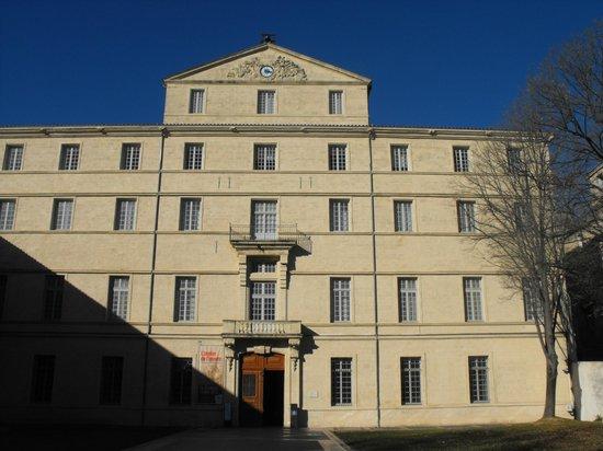Musée Fabre : Фасад музея