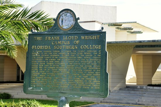 Florida Southern College: Historical Marker