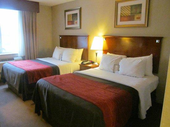 كومفرت إن لا جوارديا إيربورت - 83 ستريت: Two Double Beds