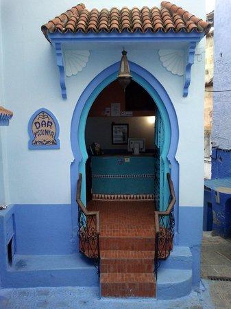 Hotel Dar Mounir : Bonita fachada del hotel