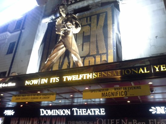 Dominion Theatre~We Will rock you! by Queen
