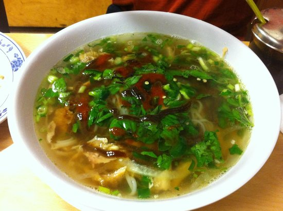 Steamy and Spicy Chicken Pho at Pho Kauai