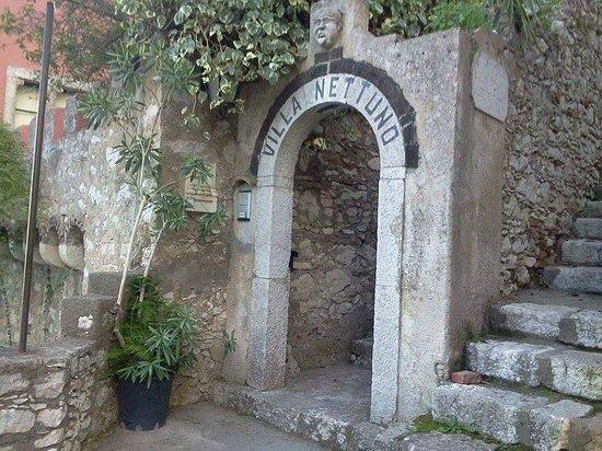 Villa Nettuno: ingresso