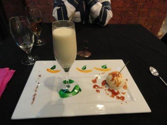 Hotel Keparanga : Un dessert... (Sabayon)