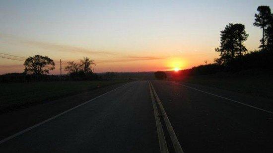 Gigante Deitado: A estrada chegando