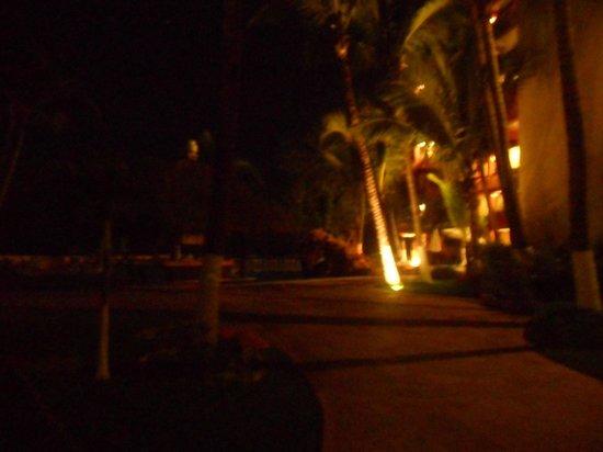 Luna Palace Hotel: andadores