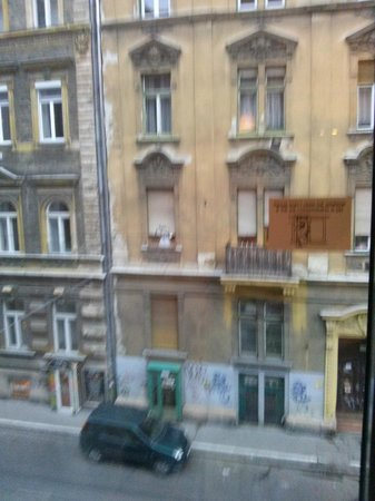 Star Inn Hotel Budapest Centrum, by Comfort: View from room