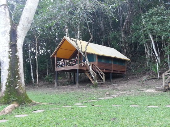 The Lodge at Chaa Creek : Casita #2 with 4 twin beds