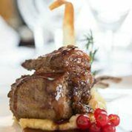 Brendan O'Regan Room: Rack of Burren Lamb