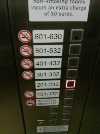 Star Inn Hotel Budapest Centrum: Elevator