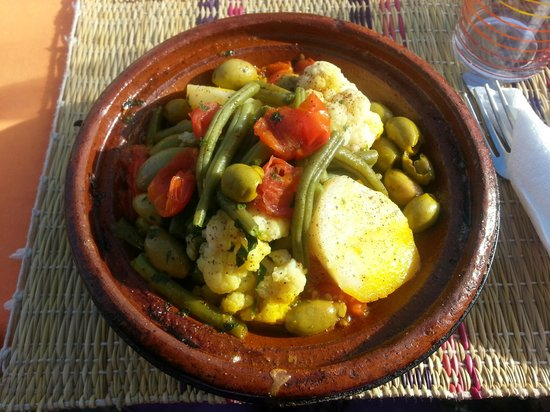 Safran : delicious vegetable tagine
