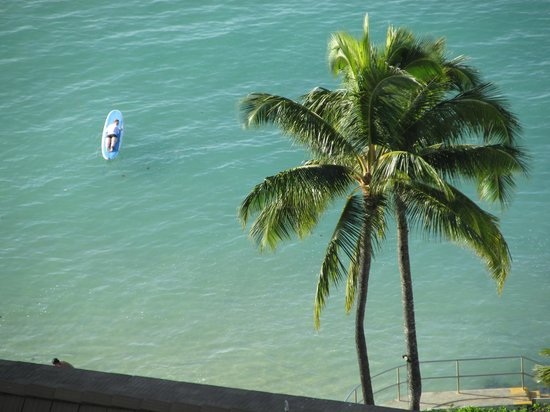 The Imperial Hawaii Resort at Waikiki: View from the Owners' Lounge