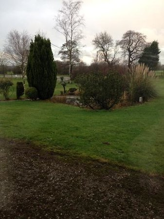 Ye Horns Inn: view from our room