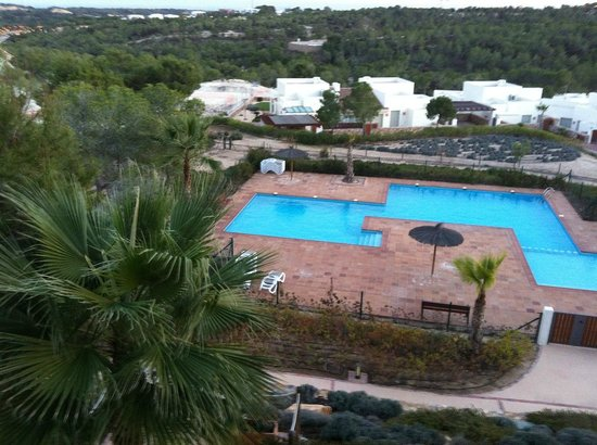 Las Colinas Golf & Country Club: view from the terrace