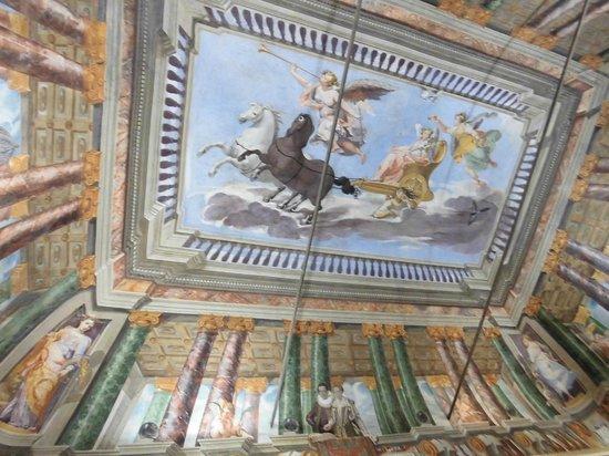 Museo Civico: Soffitto affrescato