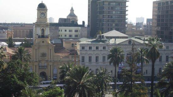 Plaza de Armas Hostel: Fotos da varanda do Hostel Plaza de Armas