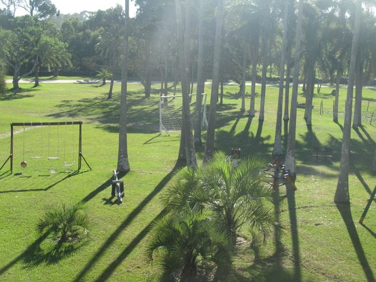 Hotel Parque Oceanico: Hotel grounds.