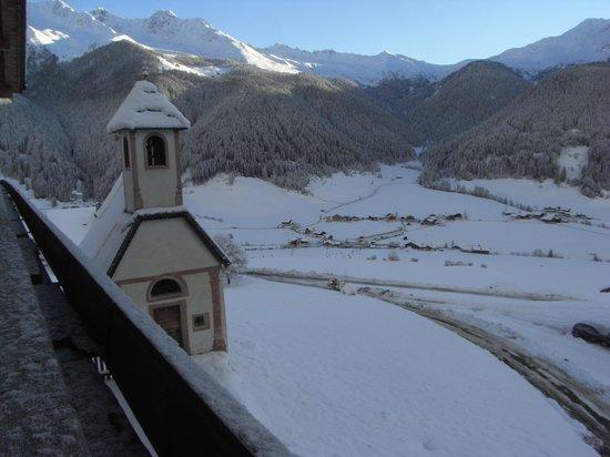 Валле-ди-Казиес, Италия: Blick vom Balkon des Ampfertalerhofes ins Tal