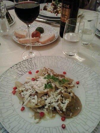 Preludio: Ravioli di castagne con carciofi <3
