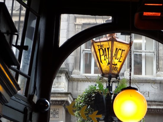 The Palace bar sign