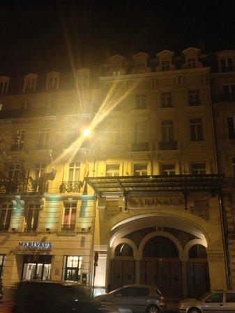 Marivaux Hotel: Facciata Hotel