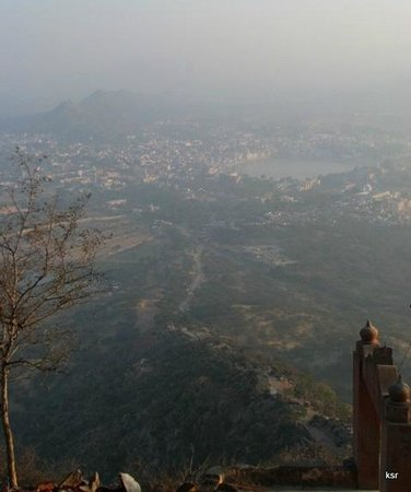 Пушкарь, Индия: View of Pushkar from Savitri temple