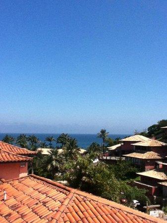 Hotel Pousada Aguazul: Vista desde el balcon de nuestra habitación