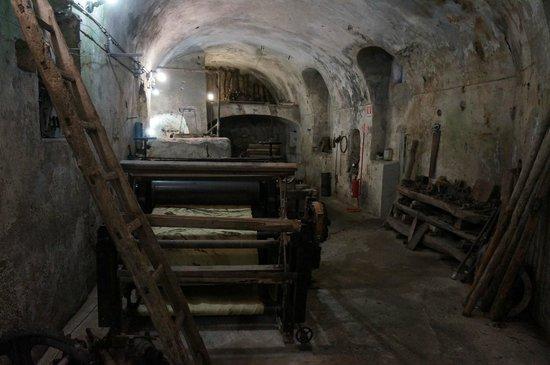 Museo della Carta: The old machines