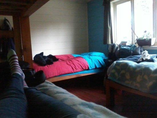 Casa Margouya: Quarto misto com até 4 camas