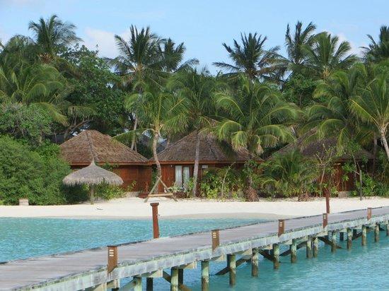 Veligandu Island Resort & Spa : Ostseite der Insel nun voll bebaut