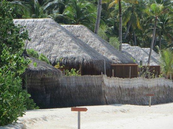 Veligandu Island Resort & Spa : Baustelle neue Strandvillen