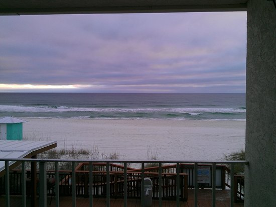 Backyard Porch Panama City Beach : View from the patio fotograf?a de Sunset Inn, Panama City Beach