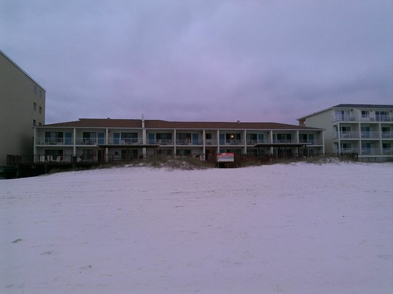 Sunset Inn: View from the water